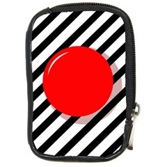 Red ball Compact Camera Cases