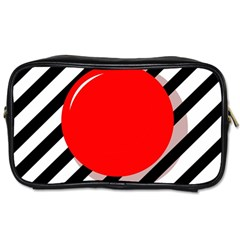 Red ball Toiletries Bags 2-Side
