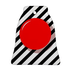 Red Ball Ornament (bell)