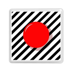 Red ball Memory Card Reader (Square)