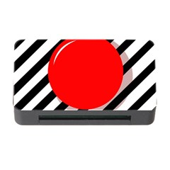 Red ball Memory Card Reader with CF