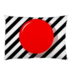 Red ball Pillow Case (Two Sides)