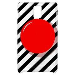 Red ball Samsung Infuse 4G Hardshell Case