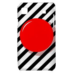 Red ball Samsung Galaxy S i9000 Hardshell Case