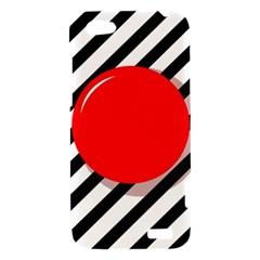 Red ball HTC One V Hardshell Case
