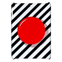 Red ball Apple iPad Mini Hardshell Case
