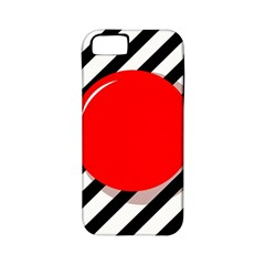 Red ball Apple iPhone 5 Classic Hardshell Case (PC+Silicone)