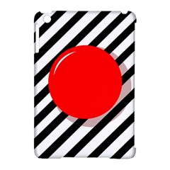 Red ball Apple iPad Mini Hardshell Case (Compatible with Smart Cover)