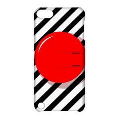 Red ball Apple iPod Touch 5 Hardshell Case with Stand