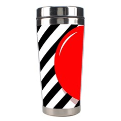 Red ball Stainless Steel Travel Tumblers