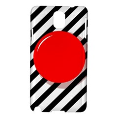 Red ball Samsung Galaxy Note 3 N9005 Hardshell Case