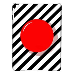Red ball iPad Air Hardshell Cases