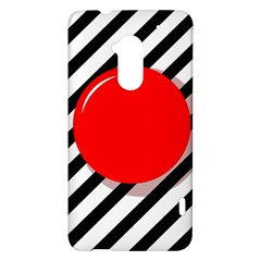 Red ball HTC One Max (T6) Hardshell Case