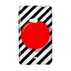 Red ball Nokia Lumia 625