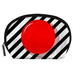 Red ball Accessory Pouches (Large)