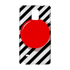 Red ball Samsung Galaxy Note 4 Hardshell Case