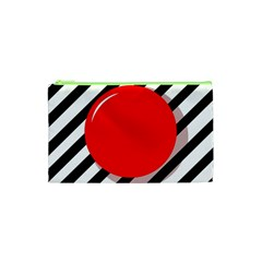 Red ball Cosmetic Bag (XS)