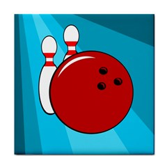 Bowling  Tile Coasters