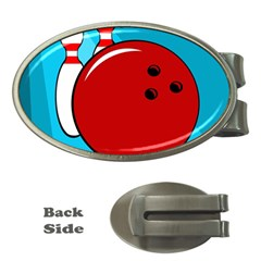 Bowling  Money Clips (Oval)
