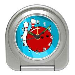 Bowling  Travel Alarm Clocks