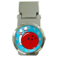 Bowling  Money Clip Watches