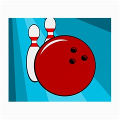 Bowling  Small Glasses Cloth (2-Side)