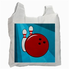 Bowling  Recycle Bag (Two Side)