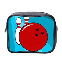 Bowling  Mini Toiletries Bag 2-Side