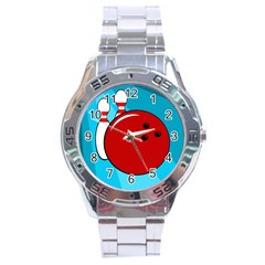 Bowling  Stainless Steel Analogue Watch