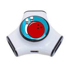 Bowling  3-Port USB Hub