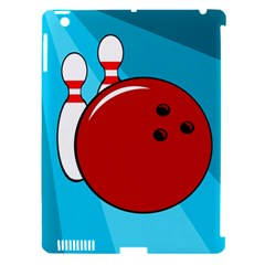 Bowling  Apple iPad 3/4 Hardshell Case (Compatible with Smart Cover)