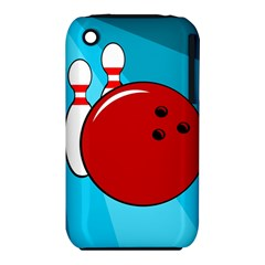 Bowling  Apple iPhone 3G/3GS Hardshell Case (PC+Silicone)