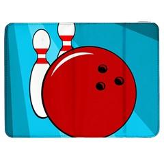 Bowling  Samsung Galaxy Tab 7  P1000 Flip Case