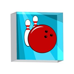 Bowling  4 x 4  Acrylic Photo Blocks