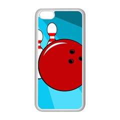 Bowling  Apple iPhone 5C Seamless Case (White)