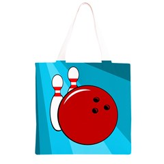 Bowling  Grocery Light Tote Bag