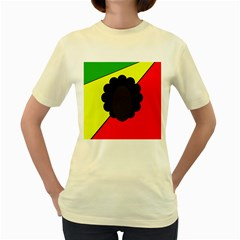 Jamaica Women s Yellow T-Shirt