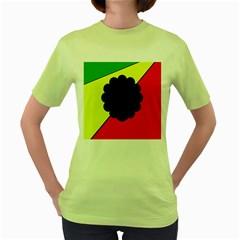 Jamaica Women s Green T-Shirt