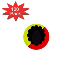 Jamaica 1  Mini Buttons (100 pack)