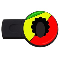 Jamaica USB Flash Drive Round (2 GB)