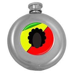 Jamaica Round Hip Flask (5 Oz)