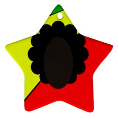 Jamaica Star Ornament (Two Sides)