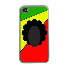 Jamaica Apple iPhone 4 Case (Clear)