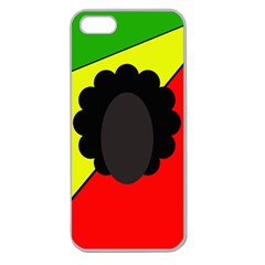 Jamaica Apple Seamless iPhone 5 Case (Clear)