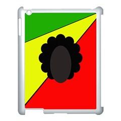 Jamaica Apple iPad 3/4 Case (White)