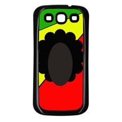 Jamaica Samsung Galaxy S3 Back Case (Black)