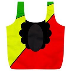 Jamaica Full Print Recycle Bags (L)