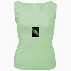 15   1jv2fw673 Women s Green Tank Top