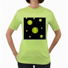 Lanterns Women s Green T-Shirt