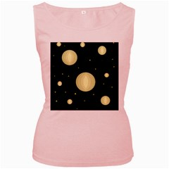 Lanterns Women s Pink Tank Top